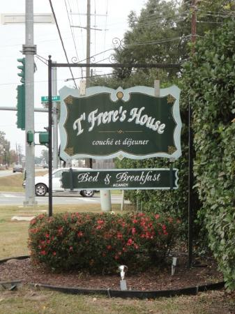 T'Frere's Bed & Breakfast: T'Frere's House B&B