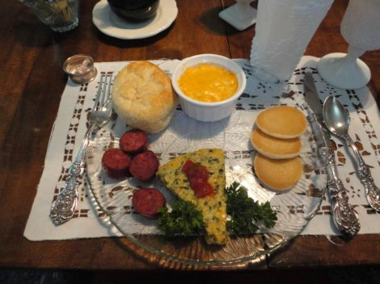 T'Frere's Bed & Breakfast: the special breakfasts