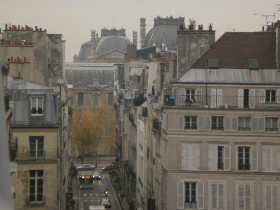 Hotel de l'Academie: The view from our room