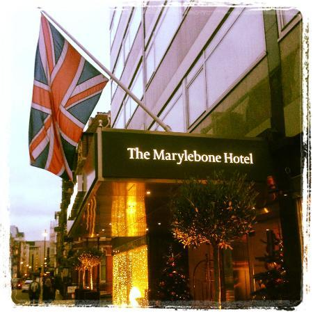 outlook of the hotel picture of the marylebone hotel. Black Bedroom Furniture Sets. Home Design Ideas