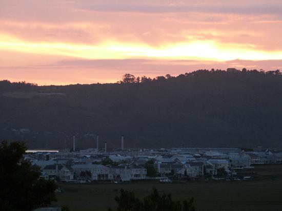 Knysna Stays: view from balcony