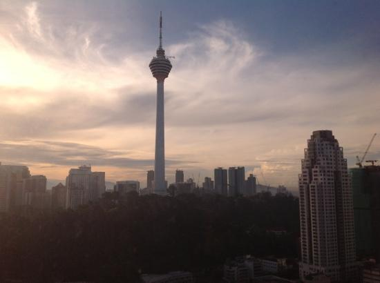 Sheraton Imperial Kuala Lumpur Hotel: view from my room on KL Tower