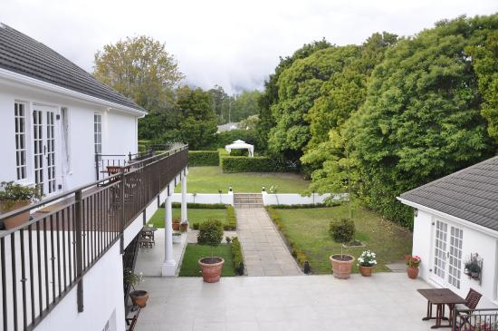 Constantia White Lodge: View from our room