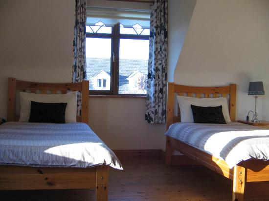 Carriganne Bed and Breakfast: Twin Bedroom