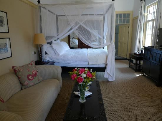 The Victoria Falls Hotel: Our Room