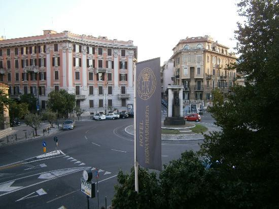 Hotel Regina Margherita: View from the room