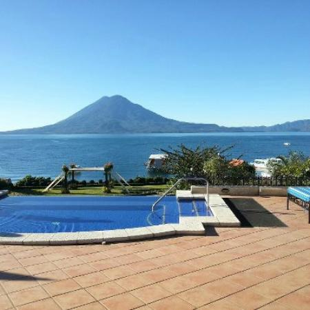 Hotel Atitlan: panorama