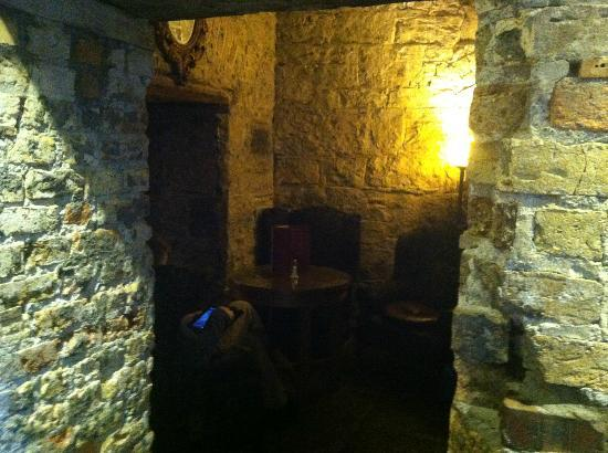"Clontarf Castle Hotel: The ""Dungeon"" great private place to drink/dine"
