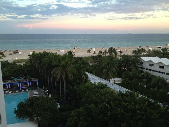 Shore Club: Vista do quarto
