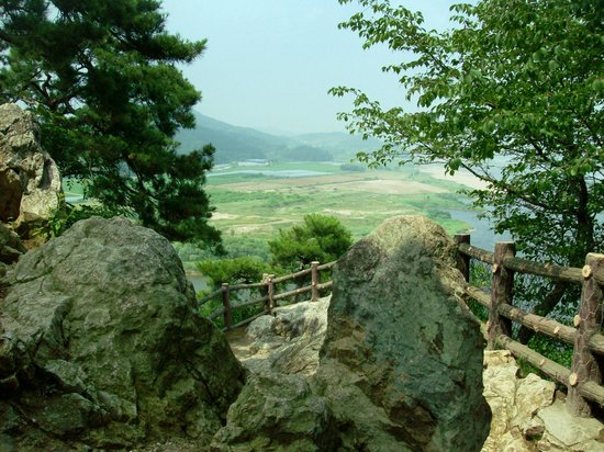 Buyeo-gun, South Korea: View of the Geum River