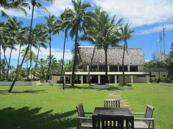 The Pearl South Pacific: The main part of the resort.