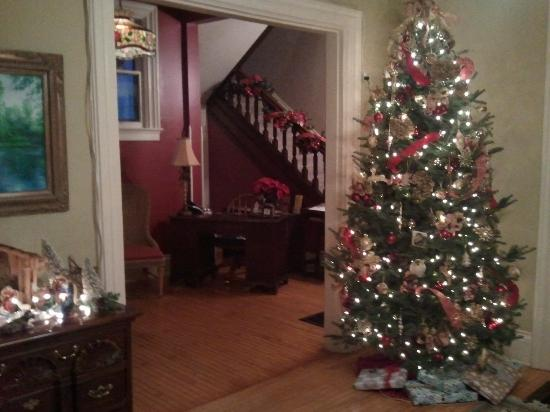 Apple Tree Lane Bed & Breakfast: Open Year Around ~ Christmas is a magical time at the Inn