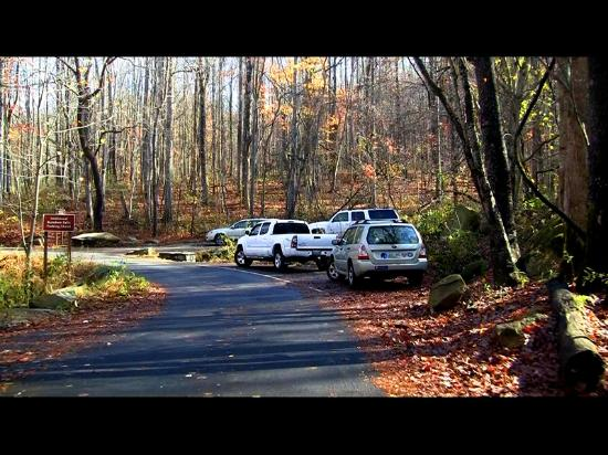 Rainbow Falls Parking Area Picture Of Roaring Fork Motor