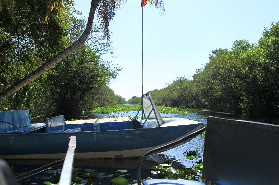 Miami, FL: Start point of the airboat rides