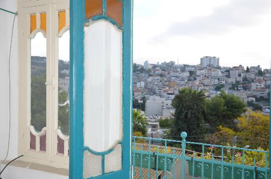 Al-Mutran Guest House: View from the second floor balcony...