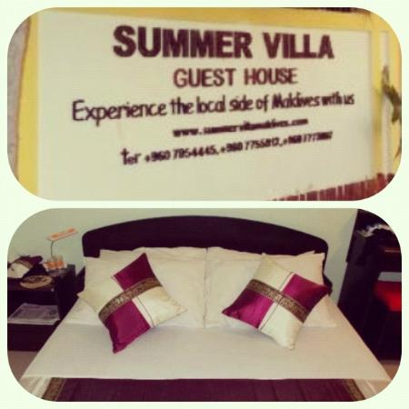 Summer Villa Guest House: Room and Entrance sign :)