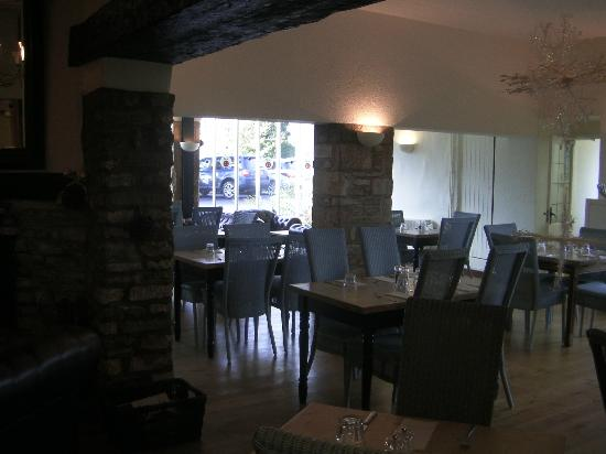 Compton Abdale, UK: front of dining room