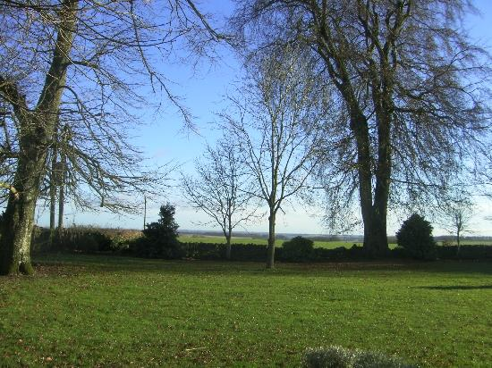 Compton Abdale, UK: View from rooms