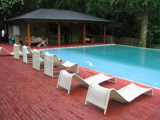 La Cantera Jungle Lodge: Naturally heated pool