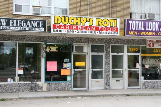 Ducky's Roti and Caribean Food