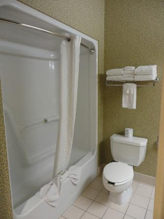 Country Inn & Suites By Carlson, Gettysburg: Large Bathroom 2