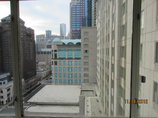 The Peninsula Chicago: View from living room