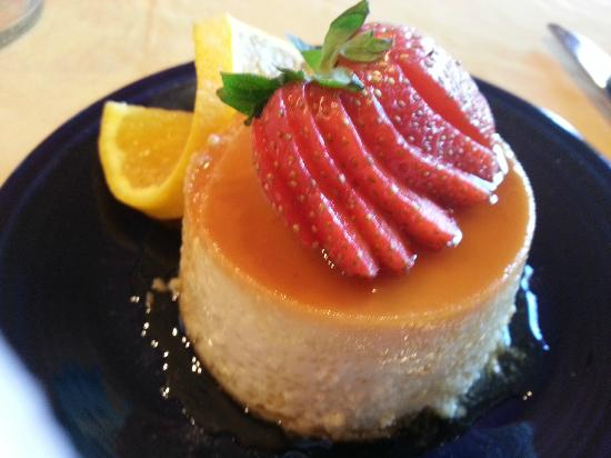 Adobe Hacienda Bed &amp; Breakfast: The perfect Flan, what a way to start your day!