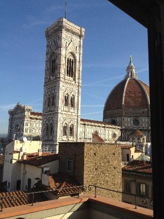 Hotel Medici: View from our room