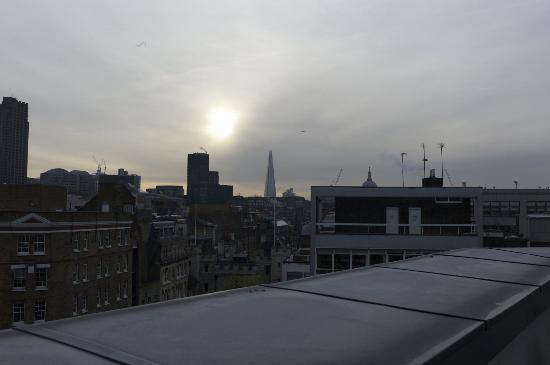 The Zetter Hotel &amp; Townhouse: The Shard - Europe&#39;s tallest building - from suite 503