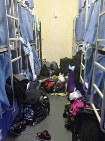 Smart Hyde Park Inn Hostel: the filthy room wasn&#39;t cleaned once during my one week stay.