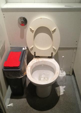Smart Hyde Park Inn Hostel: the toilets are repugnant!