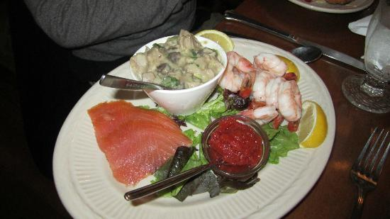 Spruce Head, : Seafood appetizer