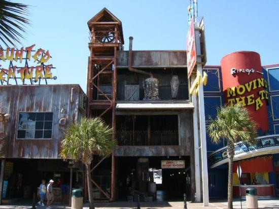 Ripley S Haunted Adventure Myrtle Beach Sc Hours Address Game Amp Entertainment Center
