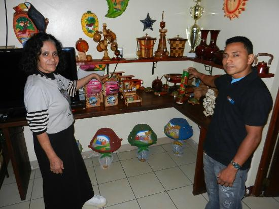 Art Hotel Managua: Local Art that can be purchased at hotel