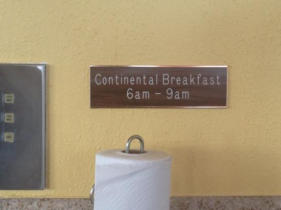 Vagabond Inn San Pedro: they should change the sign to donuts and coffee