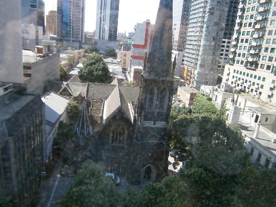 Grand Chancellor Melbourne: View directly opposite room