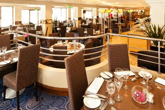 Dining at Mercure Maidstone Great Danes Hotel