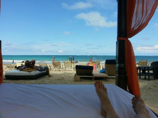 The Beach House Hotel: From the beach bed