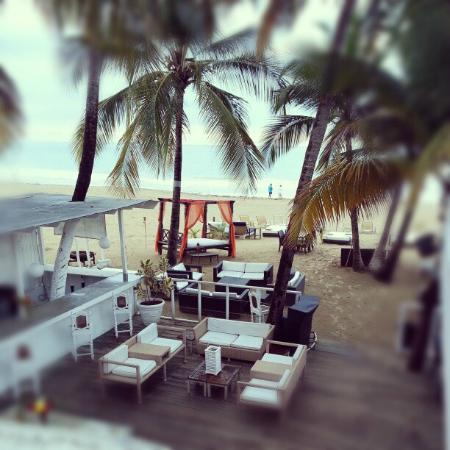 The Beach House Hotel: View from Second floor