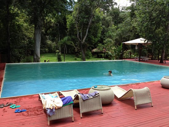 La Cantera Jungle Lodge: the pool