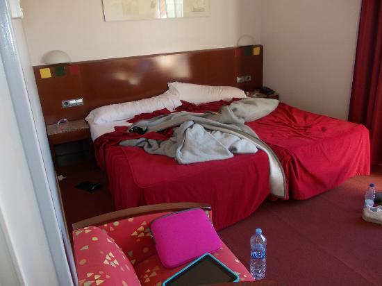 Amrey Sant Pau: room (sorry about the mess!)