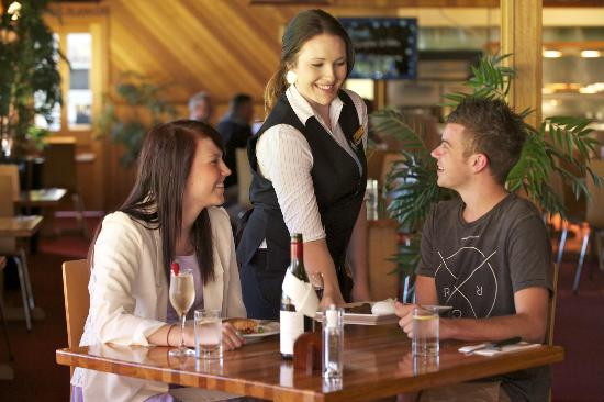 , : Dining at Tall Timbers Kauri Bistro