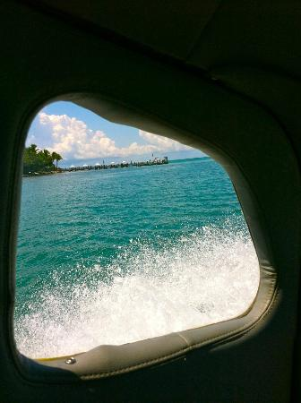 Little Palm Island Resort & Spa: Splash Down in Tropic Ocean Seaplane at Little Palm Island