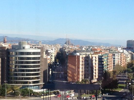Barcelo Sants: view from 617