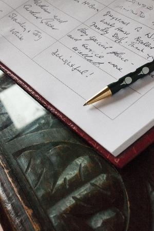 Magheralin, UK: Visitors book