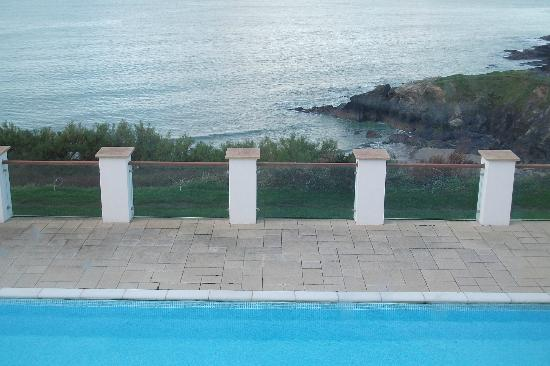 Polurrian Bay Hotel: view from vista lounge
