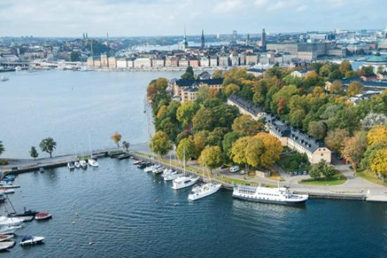 Hotel Skeppsholmen: Our beautiful Landscape