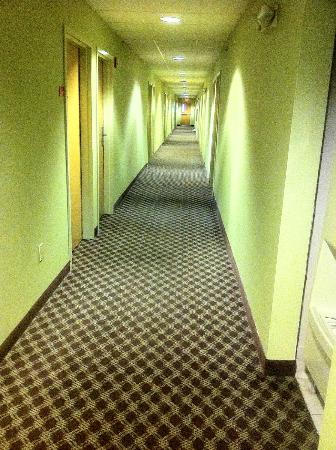 Econo Lodge Inn and Suites: hallway