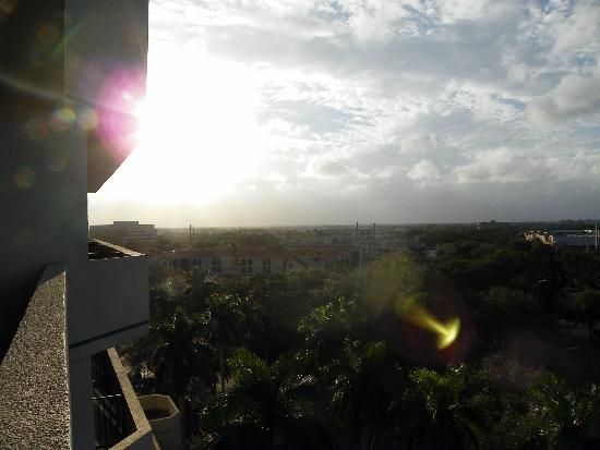Embassy Suites Boca Raton: Sunset view