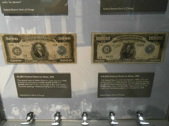 Money Museum At The Federal Reserve Bank Chicago Il